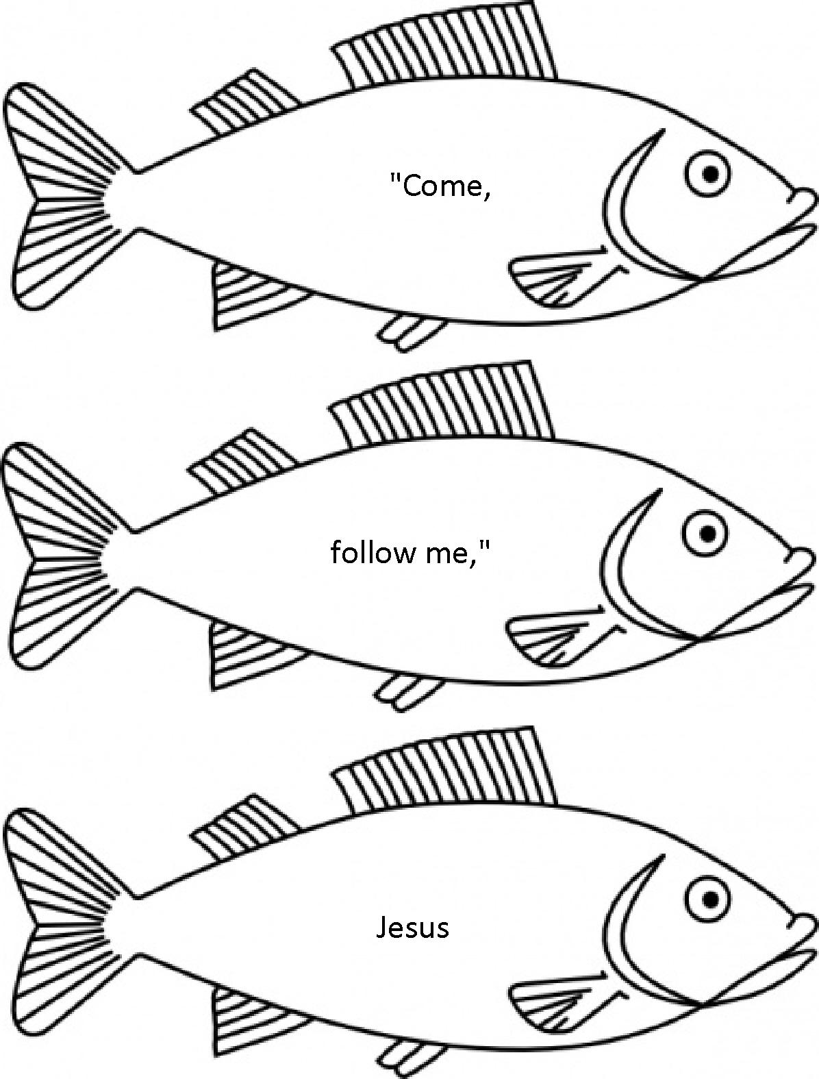 Jesus Chose His Disciples Sunday School Lesson