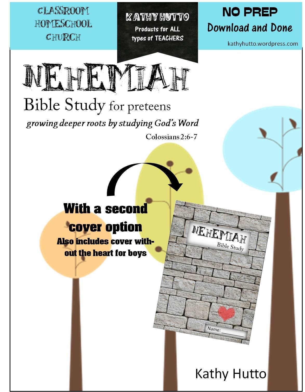 Brand New Bible Study For Preteens Nehemiah