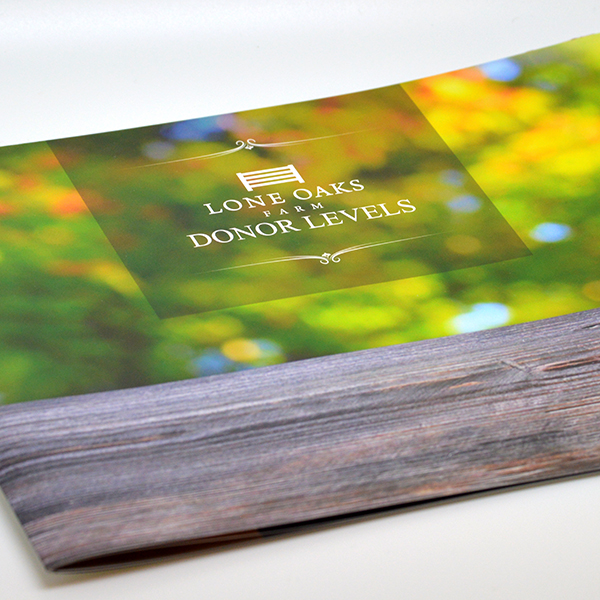Lone Oaks Farm Donor Booklet