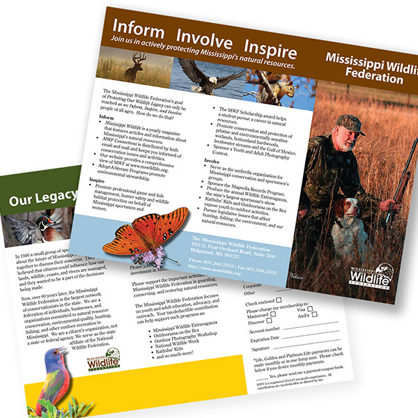 Mississippi Wildlife Federation Brochure