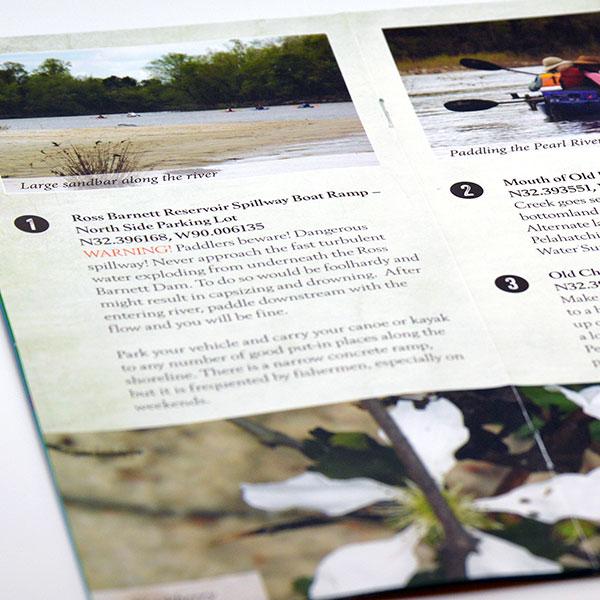Pearl River Paddling Trail Brochure