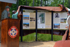 Unveiling the first three signs on the trail