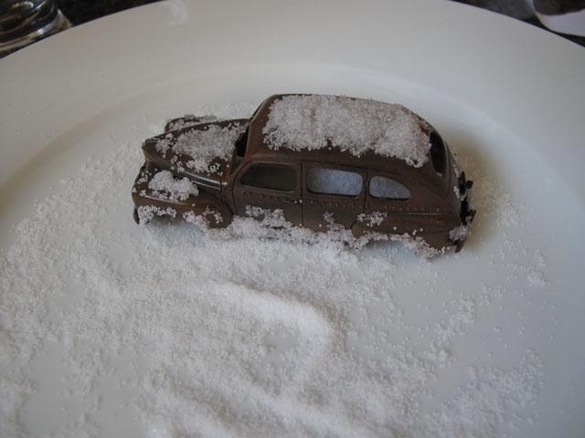 Salt layer