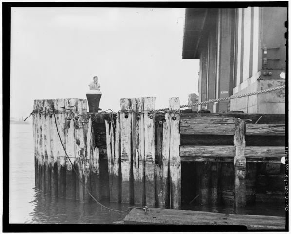 Pier edge