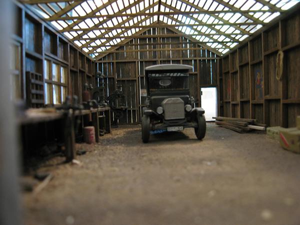 Garage barn roof