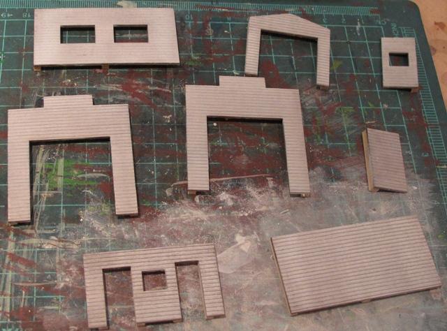 Dullcoted walls