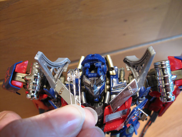 Optimus' Head