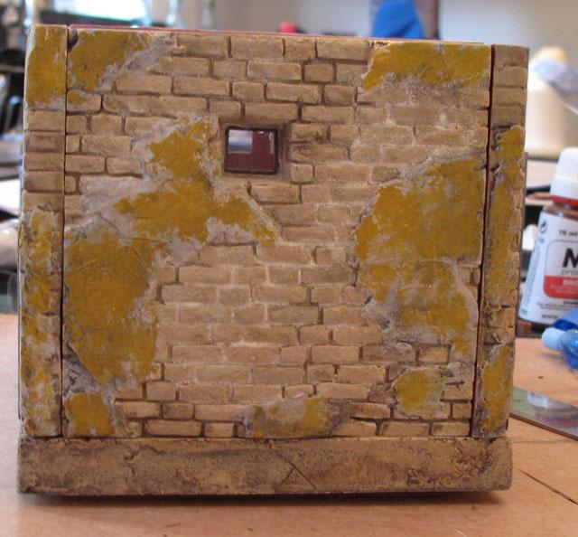 Bordello back wall