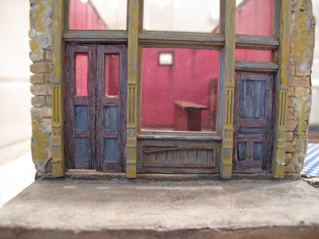 Bordello doors