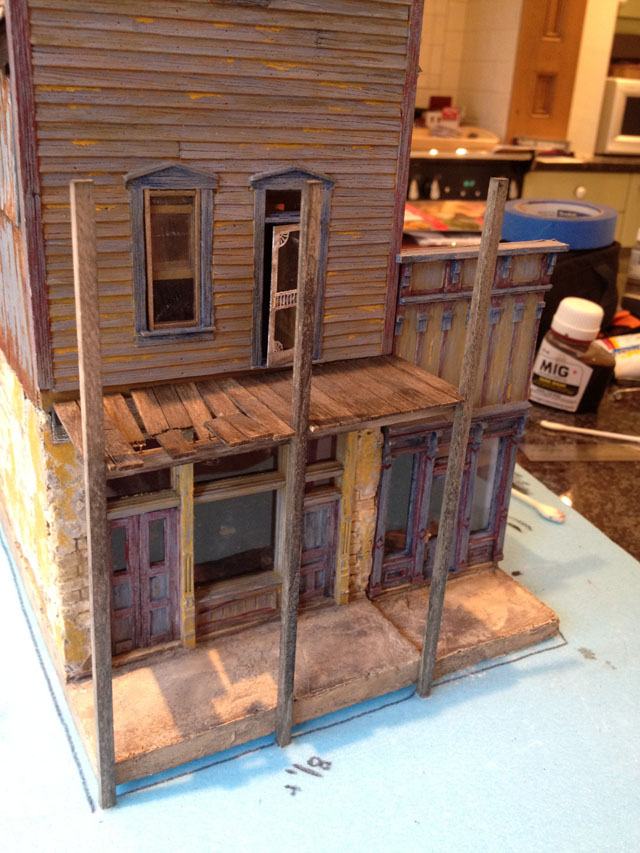 Porch uprights