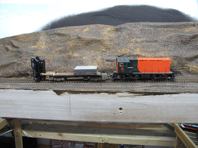 caboose and brass video holder