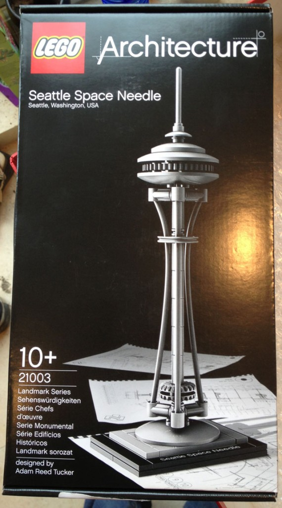 Lego Space Needle