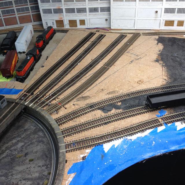 Track laid