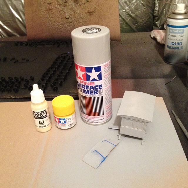 Speeder paints