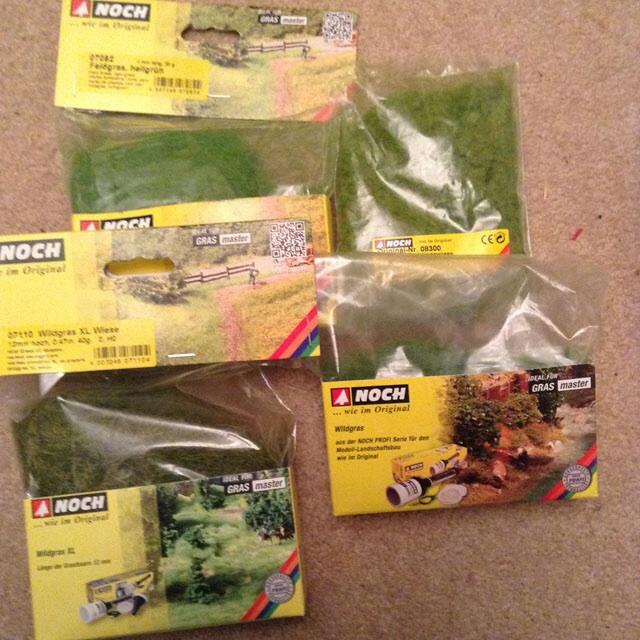 Grass supplies
