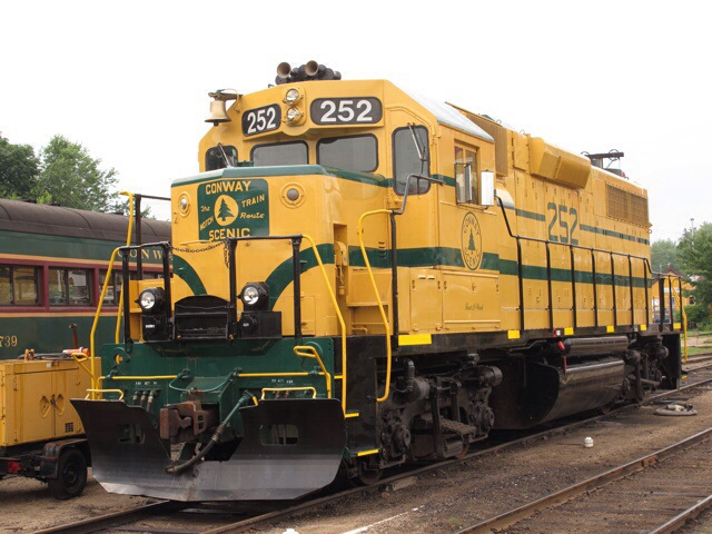 Conway Scenic loco