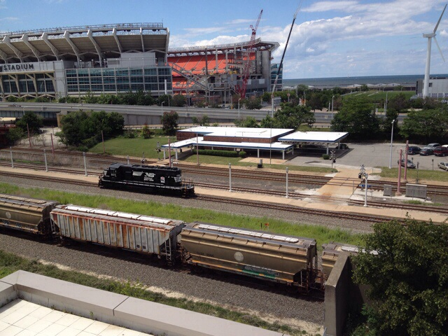 Norfolk Southern Convention loco