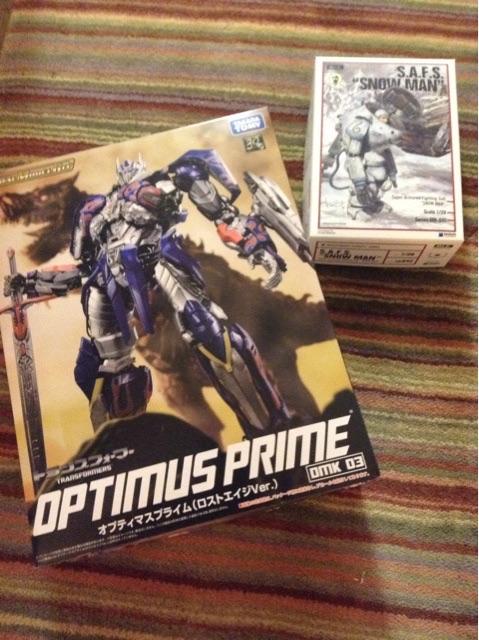 Optimus is here