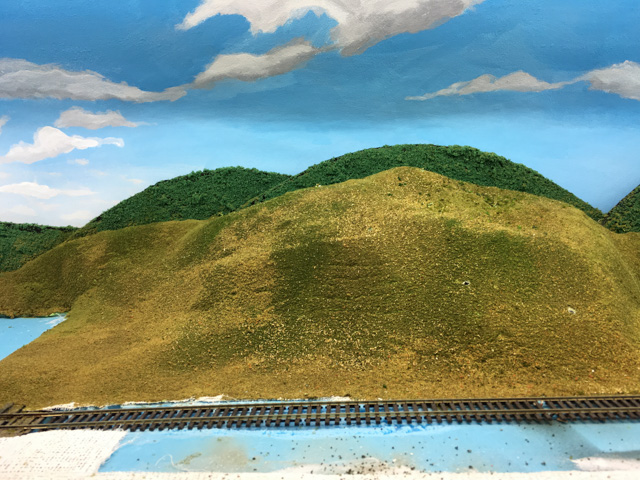Empty hills