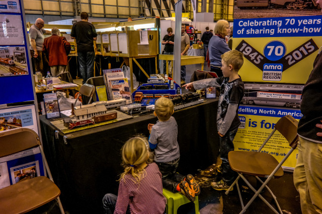 Warley 2015 NMRA Stand