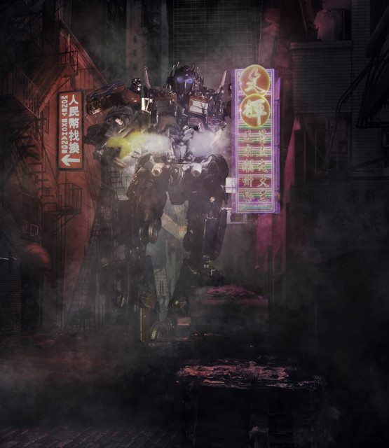 Neon Alley Optimus 3