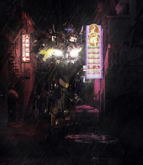Neon Alley Optimus 4