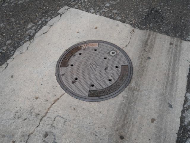 Indianapolis manhole cover