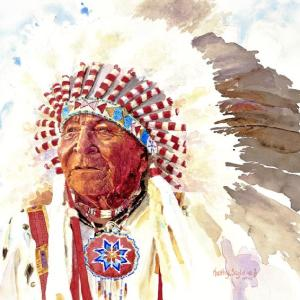 Chief David Bald Eagle