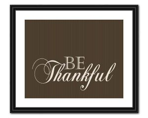 a thankful