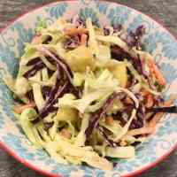 Vegan Pineapple Coleslaw