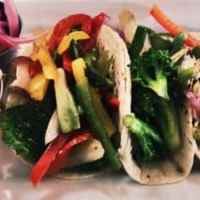 Easy Roasted Vegetable Tacos