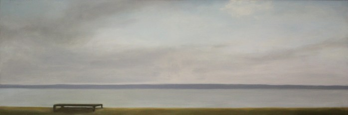 Neusiedler See kurz vor Sonnenaufgang