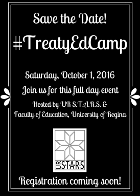 #TreatyEdCamp Save the Date