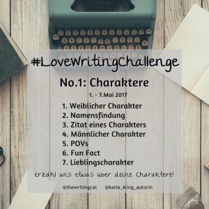 #LoveWritingChallenge1