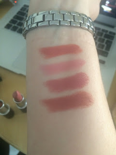 MAC LIPSTICK SWATCHES AND REVIEWS!