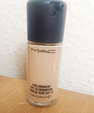 MAC Pro Longwear Foundation Review!