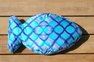 Aqua Scales - Fish Pillow