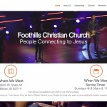 Foothills Christian Church-Churches using the Divi Wordpress Theme