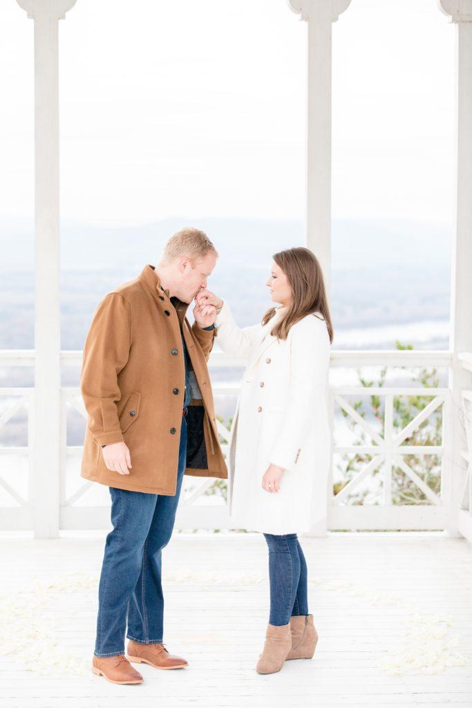 Pisgah, Alabama Proposal by Katie & Alec Photography Birmingham Proposal & Wedding Photographers