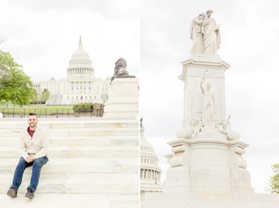 Washington DC Anniversary Session - Katie & Alec Photography