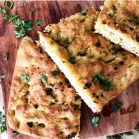 Easy Garlic & Herb Focaccia