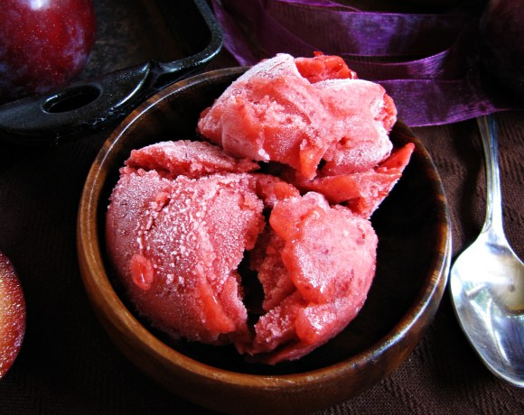 Greatist Collaboration: Plum Sorbet