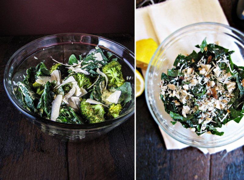 Two Kale Salads - Winter Cleanse Week One
