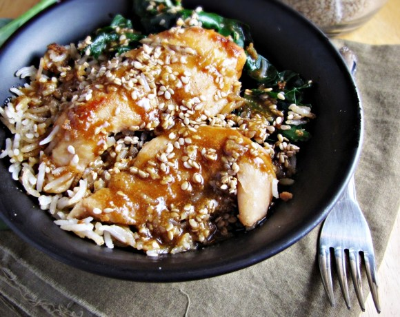 Greatist Collaboration: Sesame Chicken Bowl