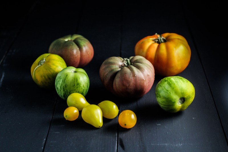 Homegrown Heirloom Tomatoes {Katie at the Kitchen Door}