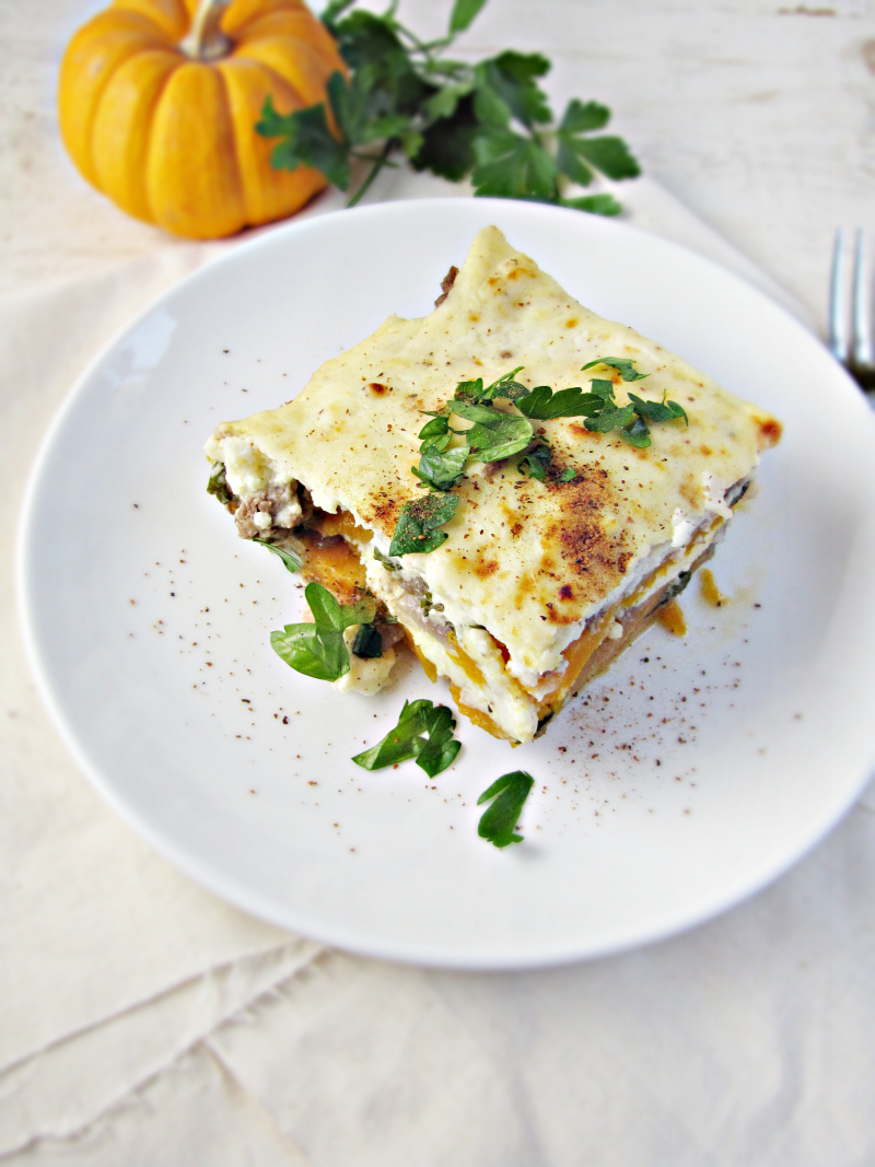 15 Favorite Fall Recipes - Pumpkin and Sweet Potato Moussaka