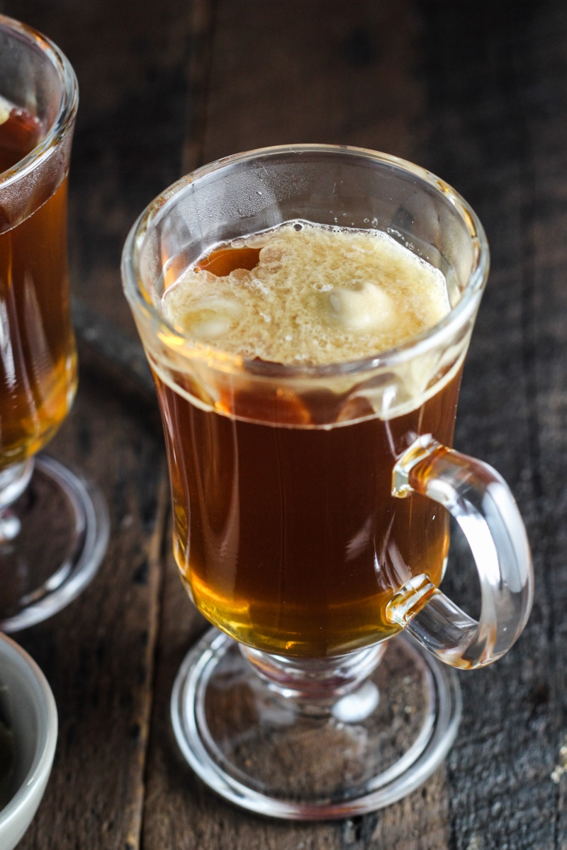 12 Festive Winter Cocktails - Burnt-Sugar Hot Buttered Rum {Katie at the Kitchen Door}
