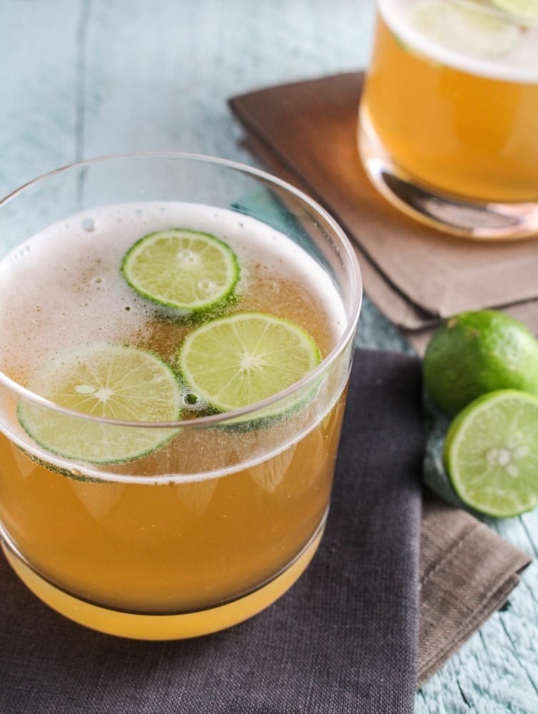 Captain's Lime Shandy {Katie at the Kitchen Door} #captainstable #superbowl