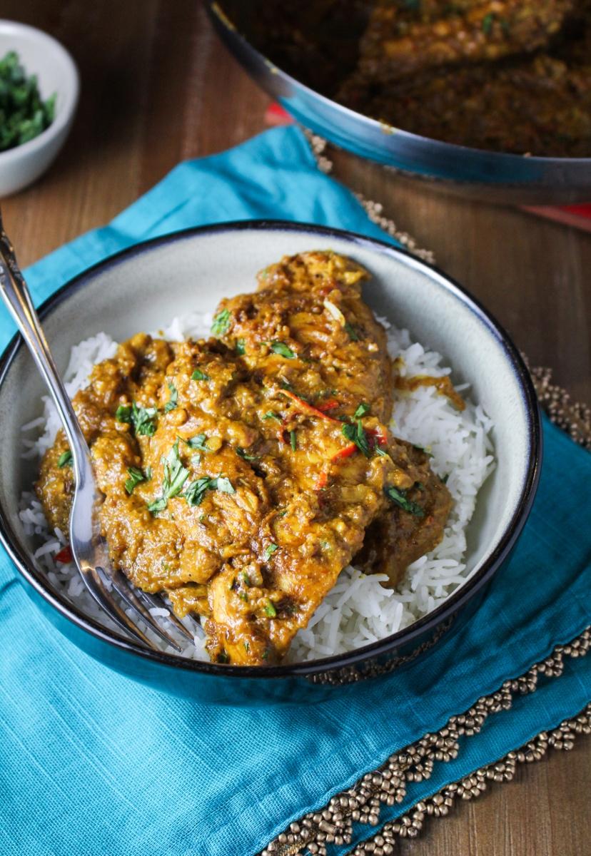 Indian Butter Chicken {Katie at the Kitchen Door}
