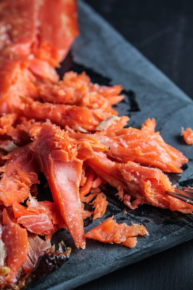 Home Smoked Salmon {Katie at the Kitchen Door}